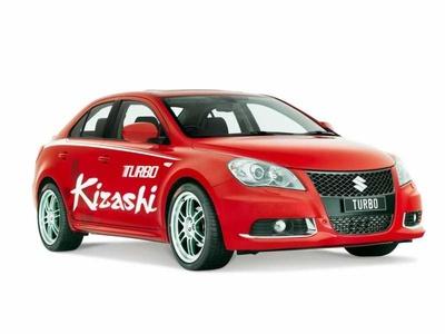 Suzuki Kizashi Turbo. Иллюстрация Suzuki