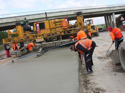 Реконструкция трассы М4 «Дон». Фото с сайта buildernet.ru
