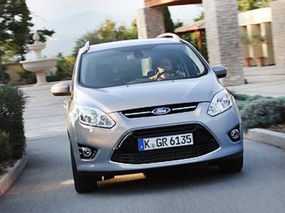 Ford Grand C-MAX. Фото Ленты.ру, Виталия Кабышева и компании Ford