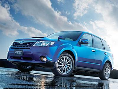 Subaru Forester STi. Фото Subaru