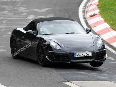 Porsche Boxter следующего поколения. Фото с сайта autocar.co.uk