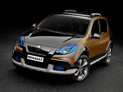 Dacia Sandero Stepway Concept. Фото Renault