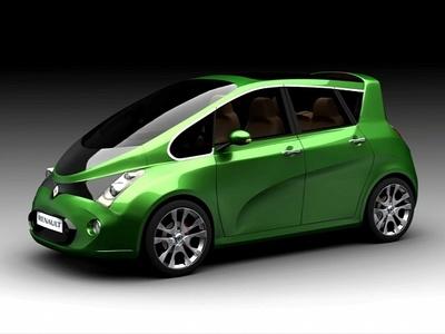 Renault Twist. Иллюстрация Renault