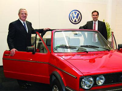 Мартин Винтеркорн и Дэвид Макалистер. Фото Volkswagen