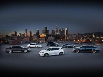 Новинки Lexus для SEMA