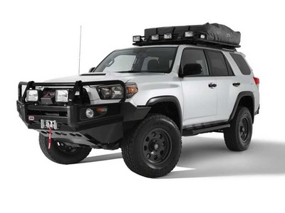 Toyota 4Runner Backcountry. Фото Toyota