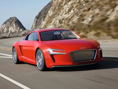 Audi e-tron Spyder. Фото Audi