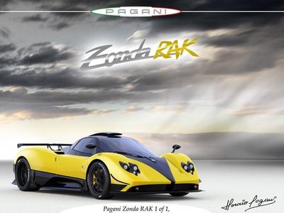Pagani Zonda RAK. Иллюстрация с сайта teamspeed.com