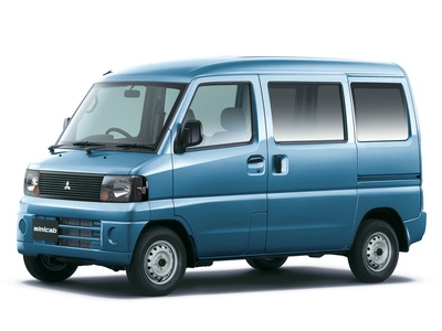 Mitsubishi Minicab. Фото Mitsubishi