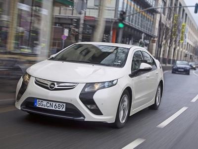 Opel Ampera. Фото Opel