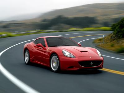 Ferrari California. Фото Ferrari