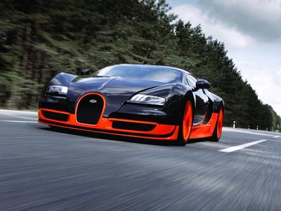 Bugatti Veyron Super Sport. Фото фирм-производителей