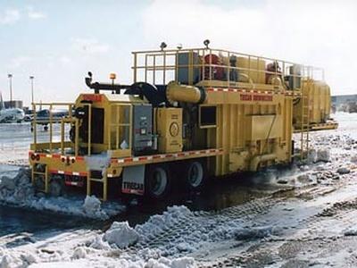 Мобильная снегоплавильная установка. Фото с сайта snowmelters.com