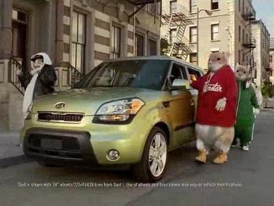Реклама KIA Soul. Скриншот видео KIA Motors