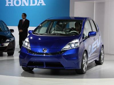 Honda Fit EV Concept. Фото с сайта autoblog.com