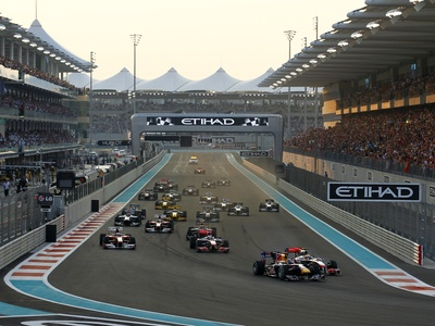 Гран При Абу-Даби. Фото Bridgestone