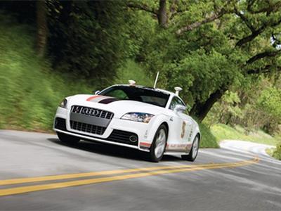 Автономное купе Audi TT-S. Фото Audi