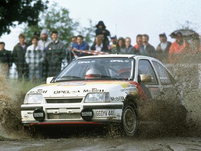 Opel Kadett GSi. Фото Opel