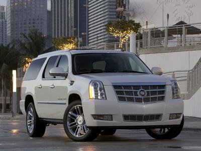 Cadillac Escalade Platinum. Фото Cadillac