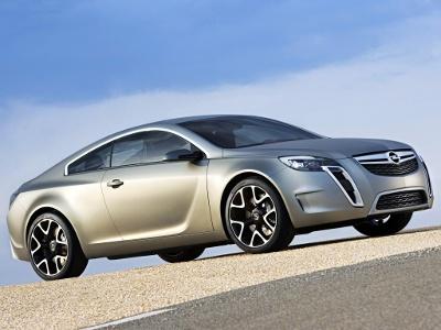 Opel GTC Concept. Фото Opel