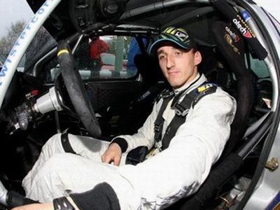 Роберт Кубица на Ралли дю Вар. Фото Renault F1