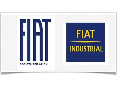 Новые логотипы Fiat. Иллюстрация Fiat