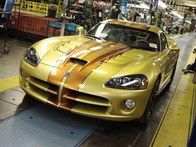 Dodge Viper. Фото Dodge