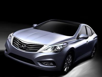 Hyundai Grandeur. Иллюстрация и фото Hyundai