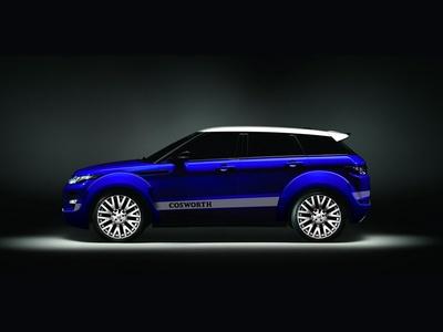 Range Rover Evoque с тюнингом Project Kahn. Иллюстрация Project Kahn