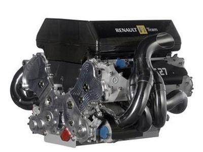 Двигатель команды Формулы-1 Renault. Фото Renault F1