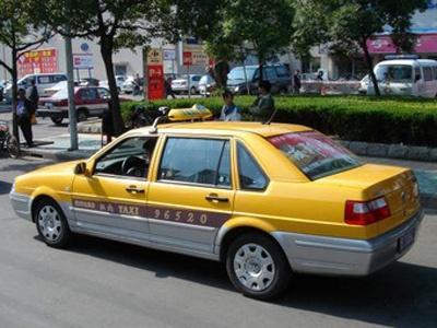 Китайское такси. Фото с сайта helloningbo.com