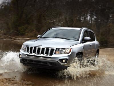 Обновленный Jeep Compass. Фото Jeep