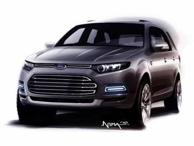 Иллюстрация компании Ford