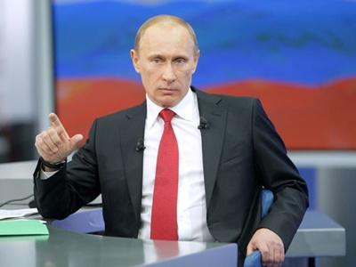 В.Путин. Фото пресс-службы Правительства РФ