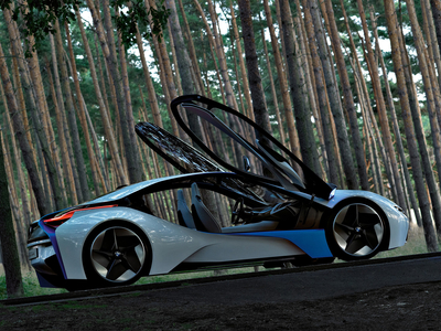 BMW Vision EfficientDynamics Concept. Фото BMW