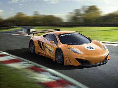 Гоночная версия суперкара McLaren MP4-12C. Иллюстрация McLaren
