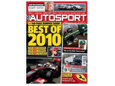 Скриншот журнала Autosport