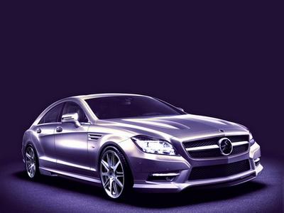 Mercedes-Benz CLS от Carlsson. Иллюстрация Сarlsson