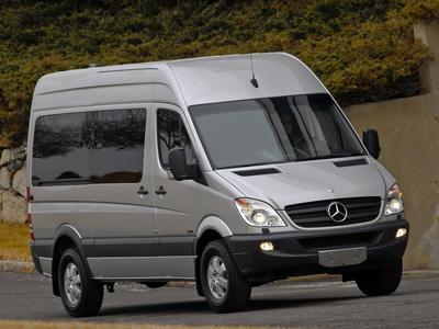 Mercedes-Benz Sprinter. Фото Mercedes-Benz