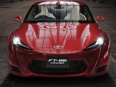 Toyota FT-86 Concept. Фото Toyota