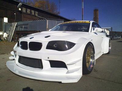 BMW 1 Series Coupe GTR. Фото Senkyr Motorsport