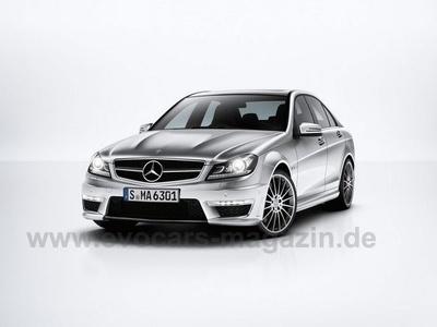 Mercedes-Benz С63 AMG. Фото с сайта evocars-magazin.de