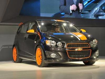 Chevrolet Sonic. Фото с сайта worldcarfans.com