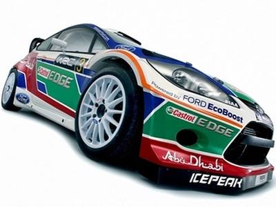 Ford Abu Dhabi World Rally Team. Фото с сайта worldrallypics.com