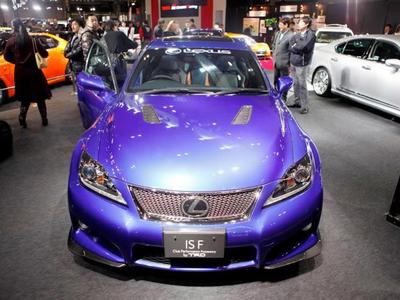 Lexus IS-F Club Performance Accessory. Фото с сайта japancar.ru