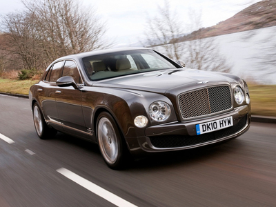 Bentley Mulsanne. Фото Bentley