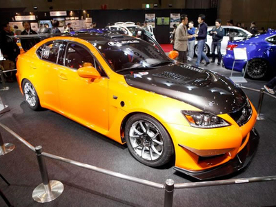 Lexus IS-F Club Circuit Sports Racer. Фото с сайта japancar.ru