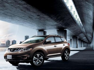 Обновленный Nissan Murano. Фото Nissan
