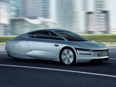 Volkswagen XL1. Фото Volkswagen