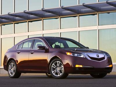 Acura TL. Фото Acura